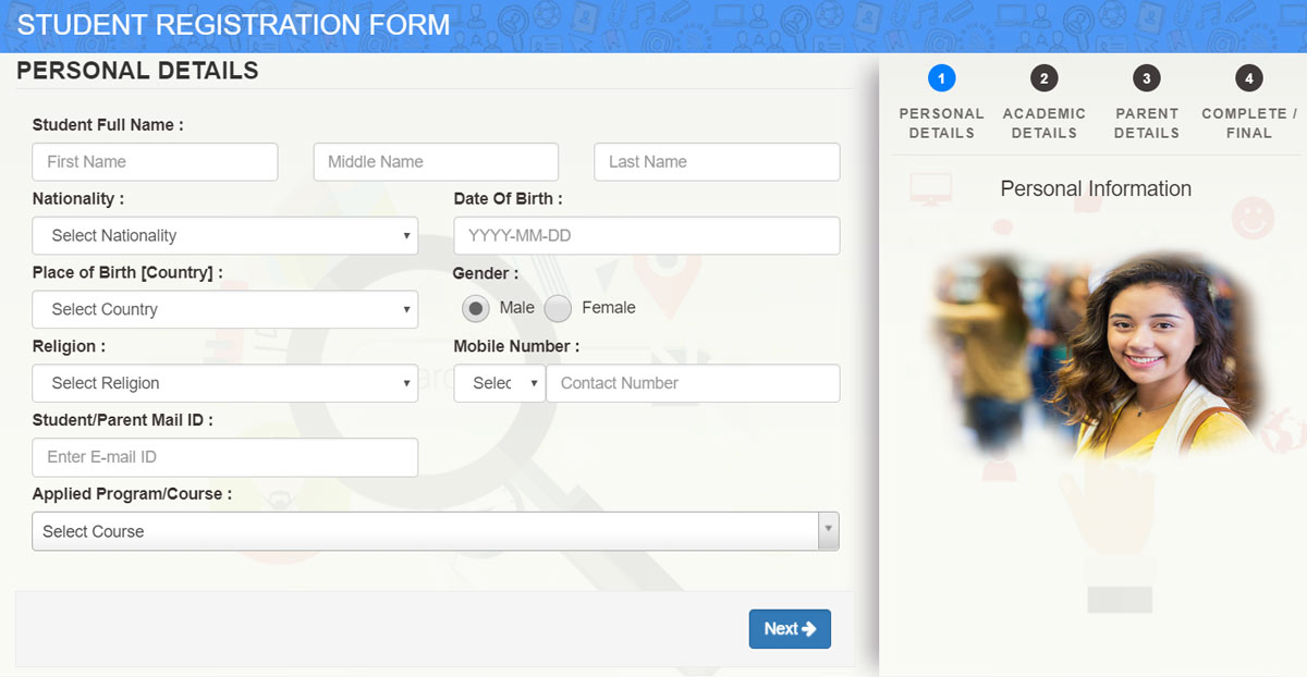 Registration-Form-mycampussquare